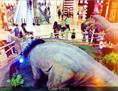 Les dinosaures investissent Côté Seine
