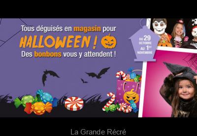Halloween à la Grande Récré