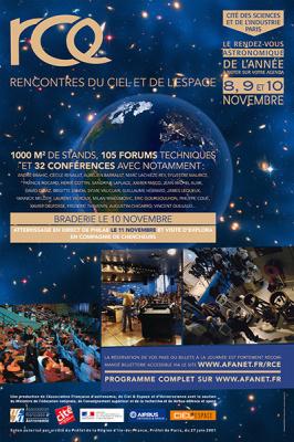Les Rencontres du Ciel et de l'Espace à la Cité des Sciences