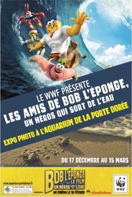 Bob l'Eponge à l'Aquarium de Paris, jeu-concours