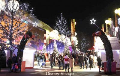 Noël et Réveillon du Nouvel An 2014-2015 à Disney Village