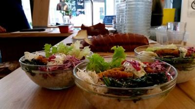 Le Bichat : cuisine bio et maison