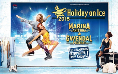 Holiday on Ice 2015 à Paris avec Marina Anissina et Gwendal Peizerat