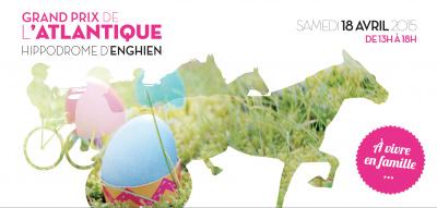 Le Grand prix de l'Atlantique 2015 à l'Hippodrome d'Enghien, chasse aux oeufs
