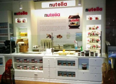 Un Bar à Nutella à Paris