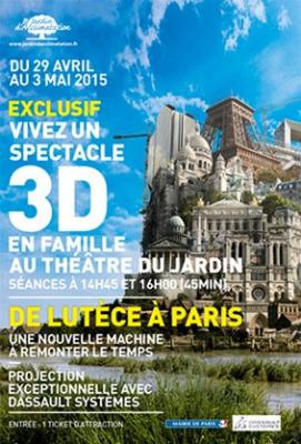 Paris 3D au Jardin d'Acclimatation