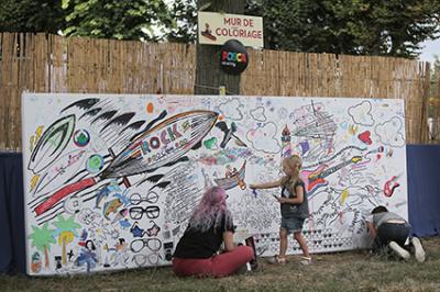 Mini rock en seine 2015, le festival rock des enfants !