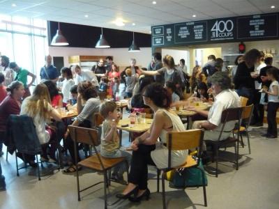 Les 400 coups : restaurant famille, enfants à la Cinémathèque