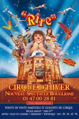 Rire au Cirque d'Hiver, le nouveau spectacle