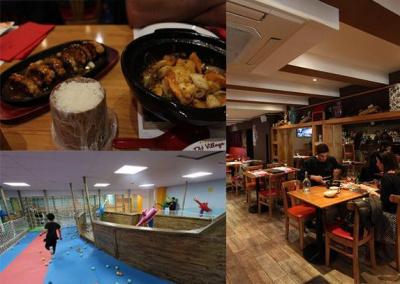 Chez Hé, le restaurant chinois - parc de jeux
