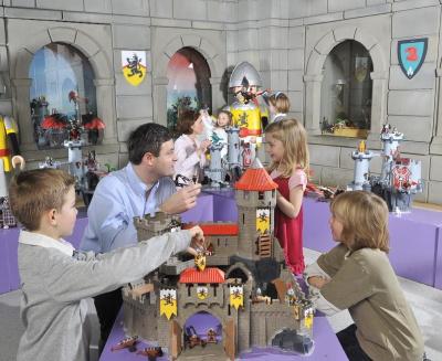 Playmobil Funpark pour les vacances de la Toussaint : les énigmes des chevaliers