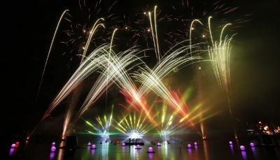 Les Feux Magiques de Disney 2015, le spectacle gratuit de Disney Village