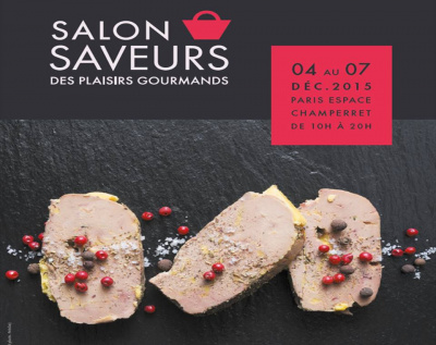 Salon saveurs des plaisirs gourmands 2015 invitations for Salon des saveurs paris