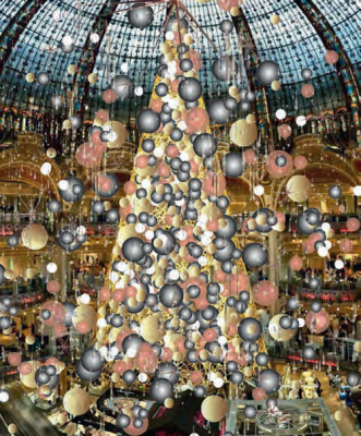 U delight partenaire vitrines de no l 2015 les galeries lafayette - Vitrine noel galerie lafayette ...