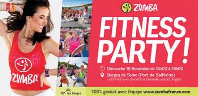 Zumba Fitness Party sur les Berges de Seine