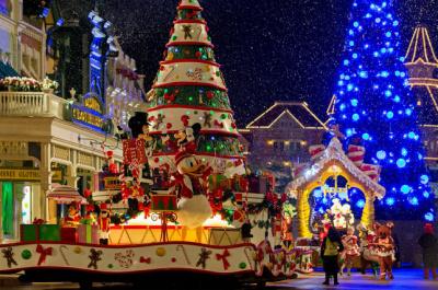 Noël à Disneyland Paris 2015