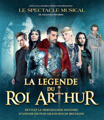 La légende du Roi Arthur, la comédie musicale au Palais des Congrès