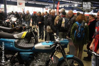 Salon Moto Légende 2015 au Parc Floral