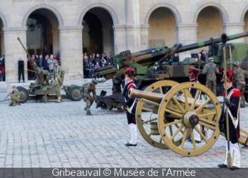 Fête de la Sainte Barbe 2015 aux Invalides à Paris