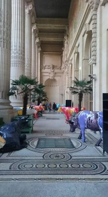 La Cow Parade, les vaches de retour au Mini Palais