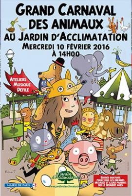 Carnaval des animaux au Jardin d'Acclimatation