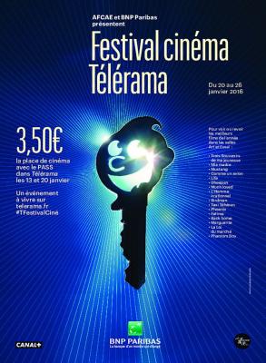 Festival cinéma Télérama 2016