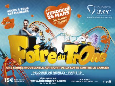 Inauguration de la Foire du Trône pour la Fondation Avec avecPatrick Bruel, Nagui et Miss France