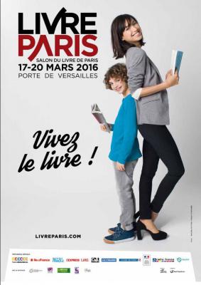 Salon du Livre 2016, Livre Paris