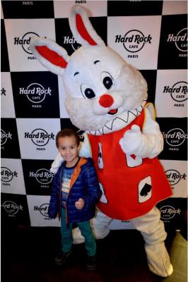 Chasse aux oeufs de Pâques et brunch 2016 au Hard Rock Café