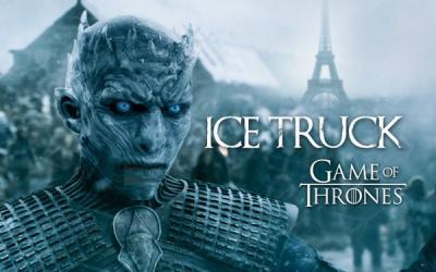 Game of Thrones, les marcheurs blancs à Paris