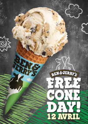 Le Free Cone Day 2016, les glaces gratuites de Ben & Jerry's