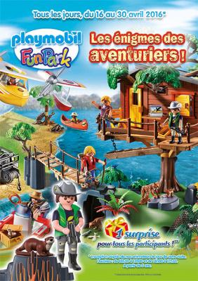 Playmobil Funpark pour les vacances de Pâques 2016