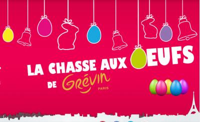 Chasse aux oeufs au Musée Grévin