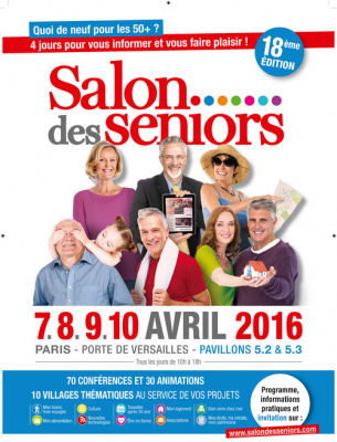 Le Salon des Séniors 2016 à Paris, invitation gratuite