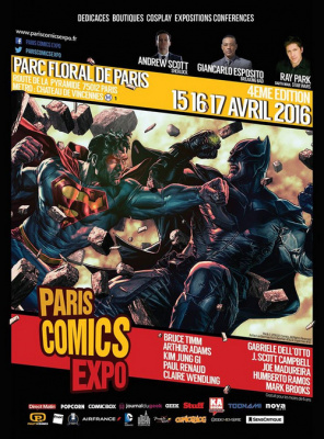Paris Comics Expo au Parc Floral