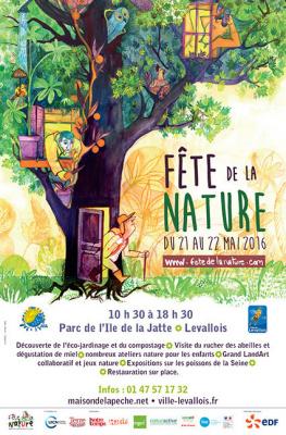 La fête de la nature sur l'Ile de la Jatte