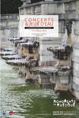 Concerts et jeux d'eau 2016 au Domaine de Saint-Cloud
