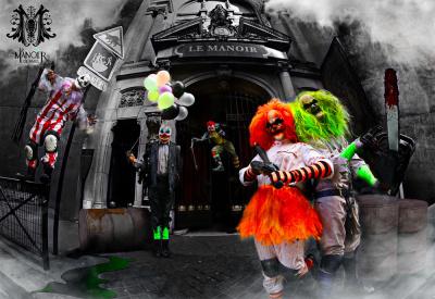 Le Manoir de Paris fête ses 5 ans à Clown City