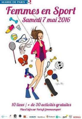 Femmes en sport 2016 à Paris