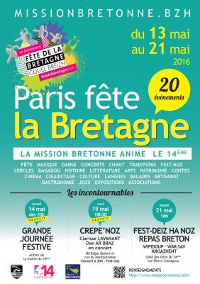 Fête de la Bretagne dans le 14e à Paris