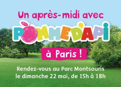 Pomme d'Api s'invite au parc Montsouris : activités pour enfants gratuites