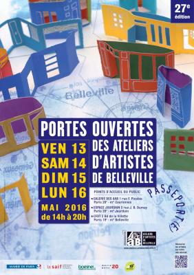 Portes ouvertes des ateliers d'artistes de Belleville 2016