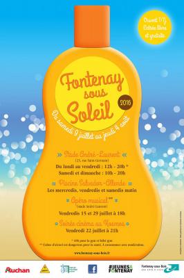 Fontenay-sous-soleil 2016, la Plage de Fontenay-sous-bois