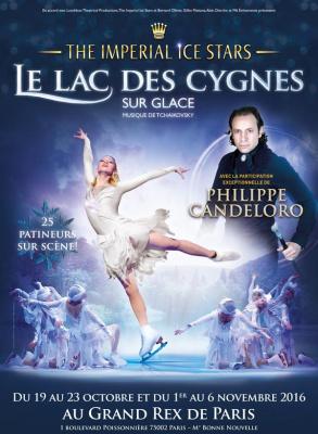 Le Lac des Cygnes sur glace au Grand Rex de Paris 2016