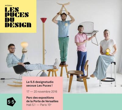 Les Puces du Design 2016 à Paris