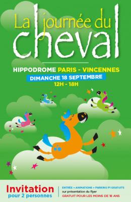 La Journée du Cheval à l'Hippodrome de Paris-Vincennes 2016, invitations gratuites