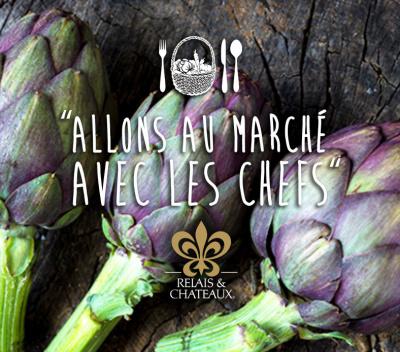 Fête de la gastronomie 2015 : allons au marché avec les chefs Relais et Châteaux
