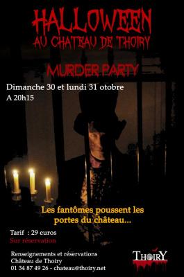 Halloween au Château de Thoiry 2016 : Murder Party