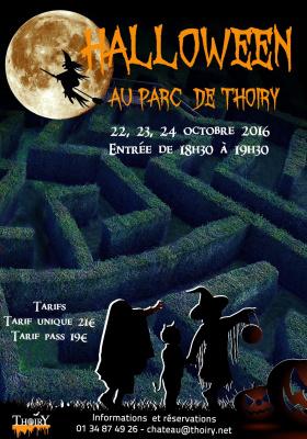 Halloween au Parc de Thoiry 2016 pour les enfants