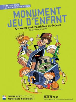 Monument jeu d'enfant 2015 à Paris et en Ile de France